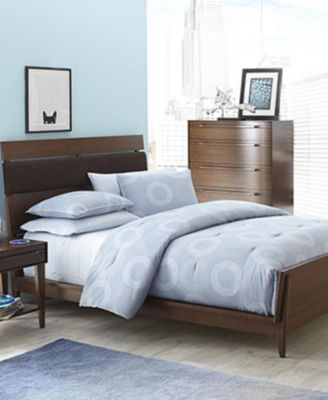 mid city 3piece king bedroom set with chest