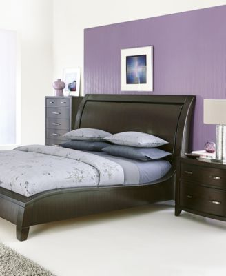 Morena King 3 Pc. Bedroom Set (Bed, Nightstand U0026 Dresser)