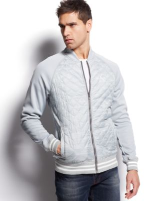 Puma Lifestyle Quilted Bomber Jacket - Coats & Jackets - Men - Macy's