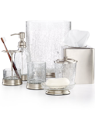 Bath accessories for the luxury bath hotel spa or for Bathroom accessories glass