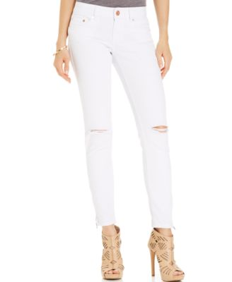Indigo Rein Juniors' Destroyed Skinny Jeans - Jeans - Juniors - Macy's