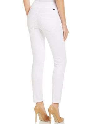 JAG Nora Super-Soft Knit Pull-On Jeans, White Wash - Jeans - Women ...