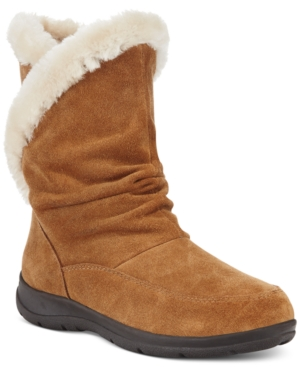 White Mountain Traffic Faux-Fur Cold Weather Boots Women's S