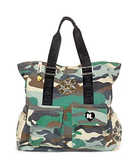 Harjuku Lovers Camo Love Uh-O Tote