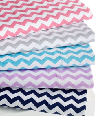 Chevron 300 Thread Count King Sheet Set