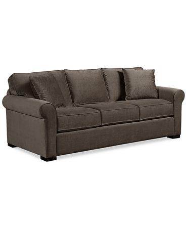 remo ii fabric sofa furniture macy 39 s