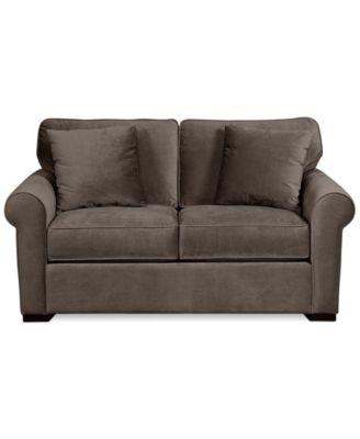 Remo Ii Fabric Loveseat Furniture Macy S