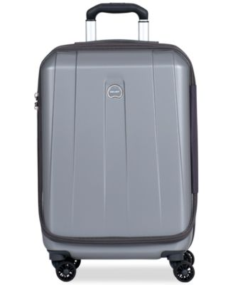 "Delsey Helium Shadow 3.0 21"" Carry-On Expandable Hardside Spinner Suitcase, In Blue, a Macy's Exclusive Color"