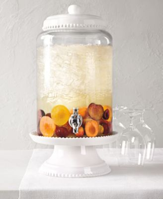 Martha Stewart Collection Beaded Beverage Dispenser