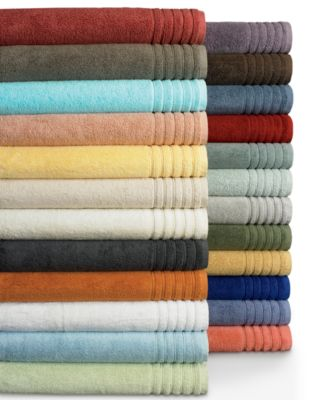 "Image of CLOSEOUT! Hotel Collection Bath Towels, MicroCotton® 12"" x 13"" Washcloth, Only at Macy's"