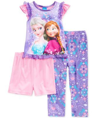 AME Toddler Girls' 3-Piece Despicable Me Pajamas - Kids - Macy's