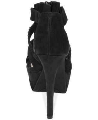 Jessica Simpson Saylor Zip Caged Sandals - Sandals - Shoes - Macy's
