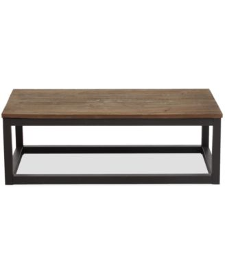 zuo eugene rectangular coffee table direct ships for 995 - Macys Coffee Table