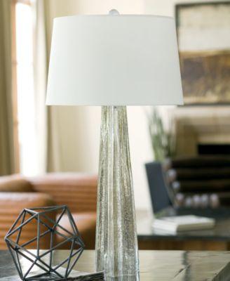 Attractive Regina Andrew Antique Glass Star Table Lamp