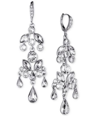 Givenchy Crystal Large Chandelier Earrings - Fashion Jewelry ...