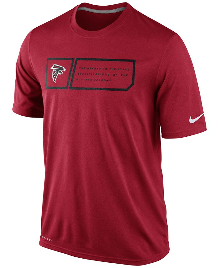 Nike - Men's Atlanta Falcons Legend Jock Tag T-Shirt