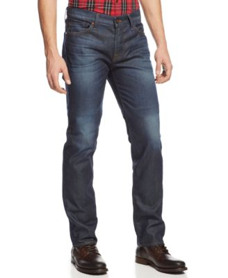 7 For All Mankind Mens Standard Straight Leg in Prism Prism - Jeans