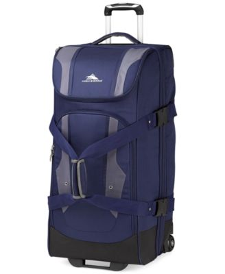"CLOSEOUT! High Sierra Adventure Access 32"" Rolling Duffel"