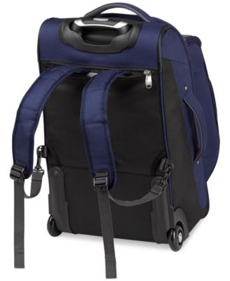 High Sierra Adventure Access Carry On Rolling Backpack - Luggage ...