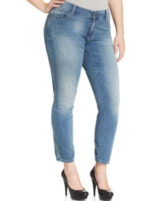 Seven7 Jeans Plus Size Bootcut Jeans, Echo Wash - Jeans - Plus ...