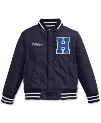 Tommy Hilfiger Little Boys&39 Baseball Jacket - Kids - Macy&39s