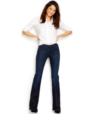 7 For All Mankind The Mid-Rise Bootcut Jeans, Los Angeles Dark ...