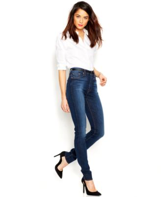 7 For All Mankind High-Rise Skinny Jeans, Heritage Medium Dark ...