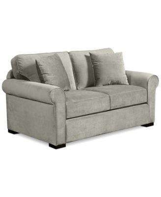 Lizbeth Fabric Apartment Sofa Furniture Macy S