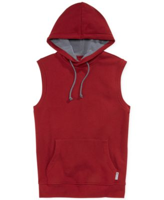 American Rag Sleeveless Pullover Hoodie - Hoodies & Fleece - Men ...