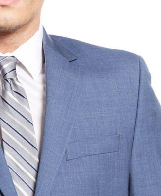 MICHAEL Michael Kors Mid-Blue Suit - Suits & Suit Separates - Men ...