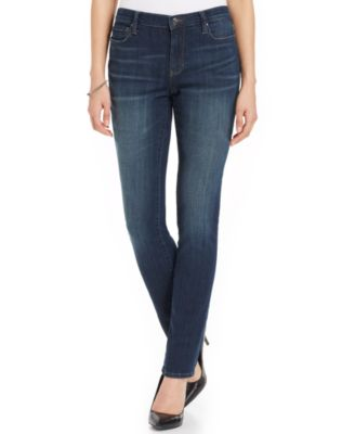 DKNY Jeans Soho Cropped Skinny Jeans, Stockholm Wash - Women's ...