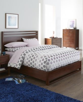 Battery Park 3 Piece Full Bedroom Furniture Set With 3 Drawer Chest
