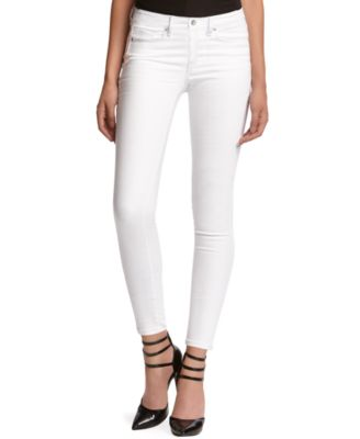 Kiind Of Mid-Rise Sexy Skinny Jeans, White Wash - Jeans - Women ...