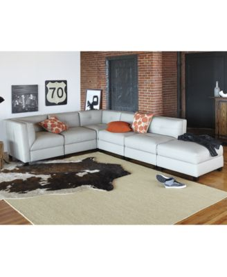 Tristen Leather Modular Living Room Furniture Collection