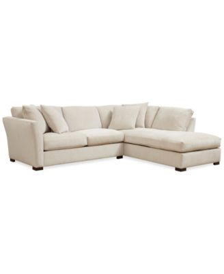Myles Fabric 3 Piece L Shaped Sectional Sofa Furniture