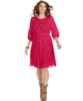 Love squared plus size polka dot maxi dress