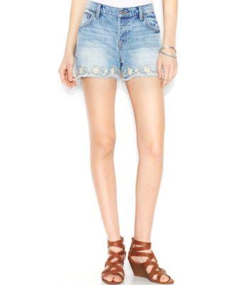 Lucky Brand Denim Cutoff Shorts, Bremer Bay Wash - Shorts - Women ...