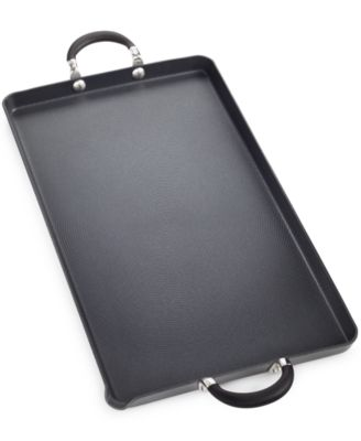 "Circulon Momentum 18"" X 10"" Double Burner Griddle"
