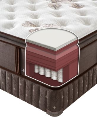 Stearns U0026 Foster Limited Edition Collection Baroque Luxury Firm Euro  Pillowtop Mattress Sets + Optional Adjustable Base Available