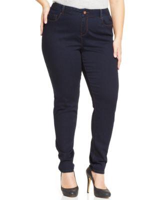 American Rag Plus Size Skinny Jeans, Madison Wash - Jeans - Plus ...
