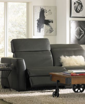 Beautiful Nicolo Sofa With 2 Power Recliners