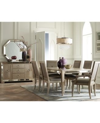 ailey 9 piece dining room furniture set