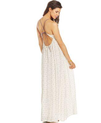 O'Neill Juniors' Dean Printed Maxi Dress - Dresses - Juniors - Macy's
