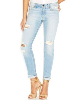 Joe's Skinny Rolled Distressed Jeans, Sylivie Wash - Jeans - Women ...