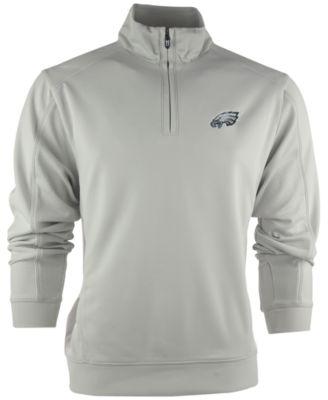 Cutter & Buck Men's Philadelphia Eagles DryTec Edge Half-Zip ...