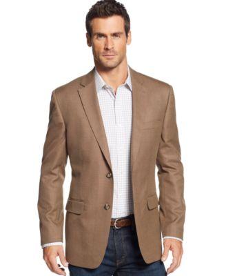 Argyle Culture Khaki Linen-Blend Sport Coat - Blazers & Sport ...