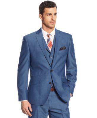 Modern Blue Suit - Hardon Clothes