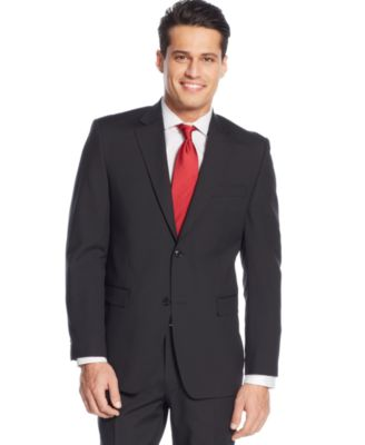Donald J. Trump Black Pinstripe Suit - Suits & Suit Separates