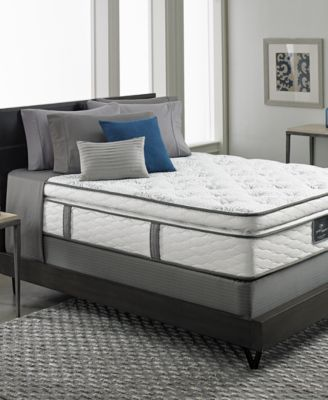 Serta Perfect Sleeper Elite Gentle Isle Firm Pillowtop Queen Mattress Set