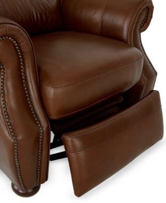 Royce Leather Recliner Chair & Royce Leather Recliner Chair - Furniture - Macyu0027s islam-shia.org